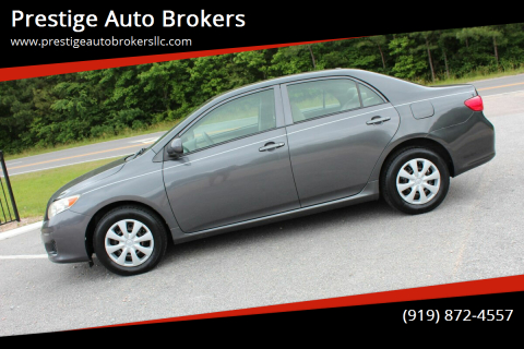 2009 Toyota Corolla for sale at Prestige Auto Brokers in Raleigh NC