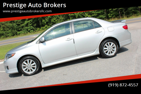 2010 Toyota Corolla for sale at Prestige Auto Brokers in Raleigh NC