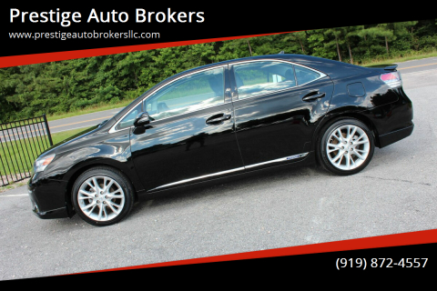 2010 Lexus HS 250h for sale at Prestige Auto Brokers in Raleigh NC