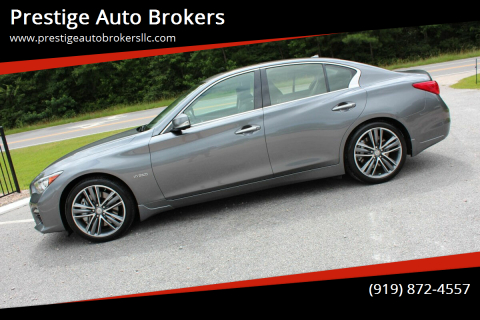 2014 Infiniti Q50 Hybrid for sale at Prestige Auto Brokers in Raleigh NC
