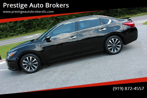 2017 Nissan Altima for sale at Prestige Auto Brokers in Raleigh NC