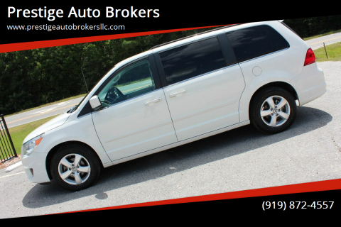2011 Volkswagen Routan for sale at Prestige Auto Brokers in Raleigh NC