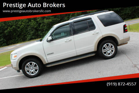 2008 Ford Explorer for sale at Prestige Auto Brokers in Raleigh NC