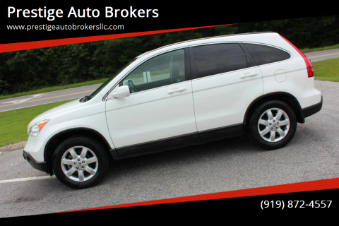2007 Honda CR-V for sale at Prestige Auto Brokers in Raleigh NC