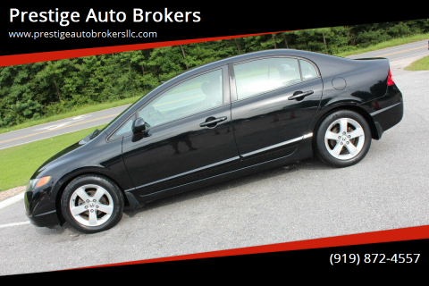 2007 Honda Civic for sale at Prestige Auto Brokers in Raleigh NC