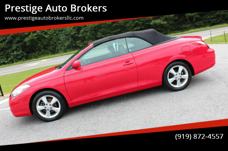 2008 Toyota Camry Solara for sale at Prestige Auto Brokers in Raleigh NC