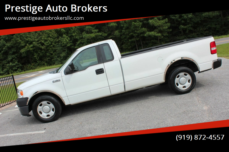 2008 Ford F-150 for sale at Prestige Auto Brokers in Raleigh NC