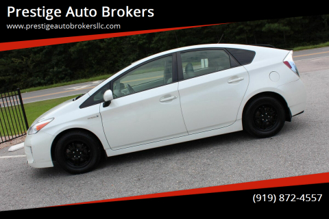2015 Toyota Prius for sale at Prestige Auto Brokers in Raleigh NC