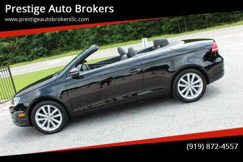 2012 Volkswagen Eos for sale at Prestige Auto Brokers in Raleigh NC