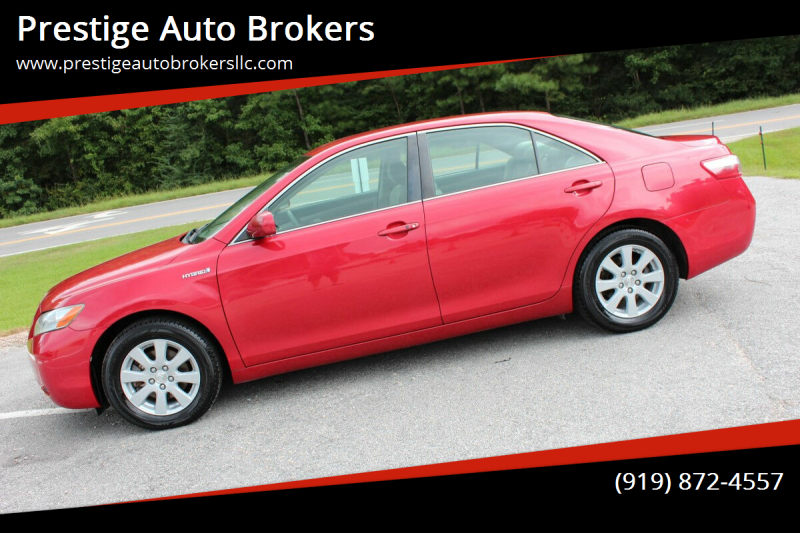 2007 Toyota Camry Hybrid for sale at Prestige Auto Brokers in Raleigh NC