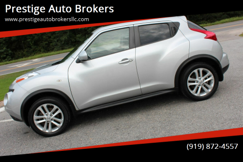 2014 Nissan JUKE for sale at Prestige Auto Brokers in Raleigh NC