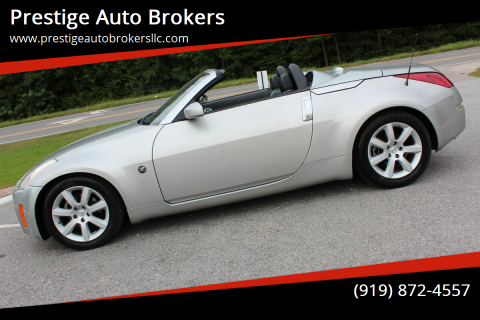 2005 Nissan 350Z for sale at Prestige Auto Brokers in Raleigh NC