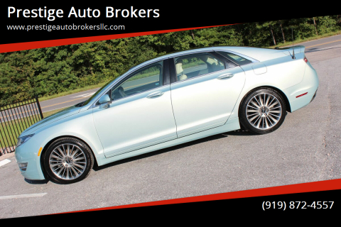 2013 Lincoln MKZ Hybrid for sale at Prestige Auto Brokers in Raleigh NC