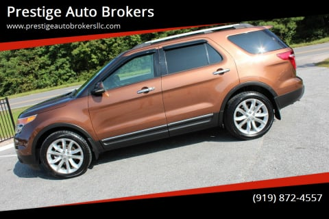 2012 Ford Explorer for sale at Prestige Auto Brokers in Raleigh NC