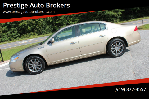 2006 Buick Lucerne for sale at Prestige Auto Brokers in Raleigh NC