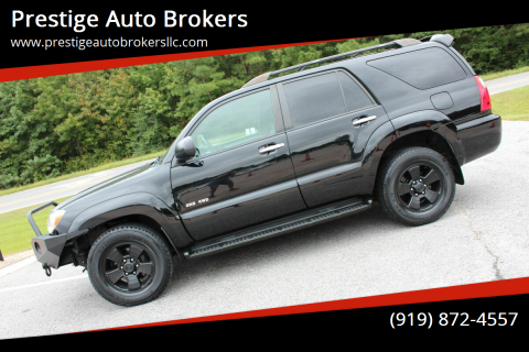 2008 Toyota 4Runner for sale at Prestige Auto Brokers in Raleigh NC