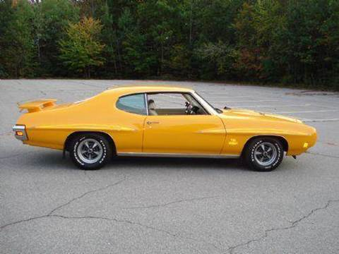 1970 Pontiac GTO for sale at Clair Classics in Westford MA