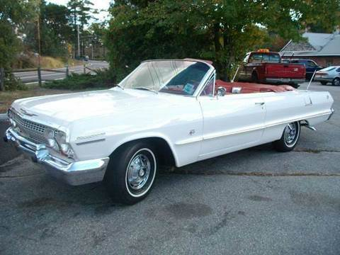 1963 Chevrolet Impala for sale at Clair Classics in Westford MA