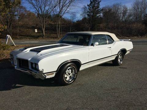 1972 Oldsmobile 442 Convertible for sale at Clair Classics in Westford MA