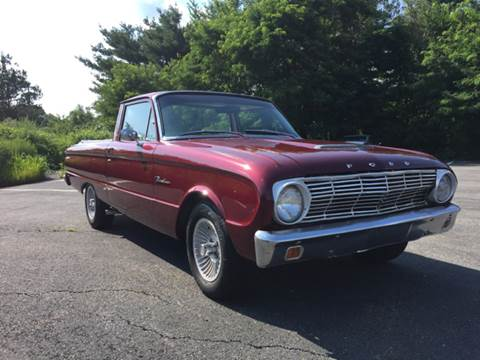 1963 Ford Ranchero for sale at Clair Classics in Westford MA