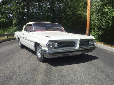 1962 Pontiac Catalina for sale at Clair Classics in Westford MA