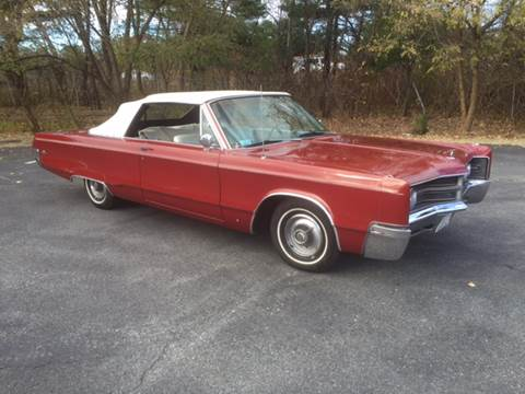 1967 Chrysler 300 for sale at Clair Classics in Westford MA