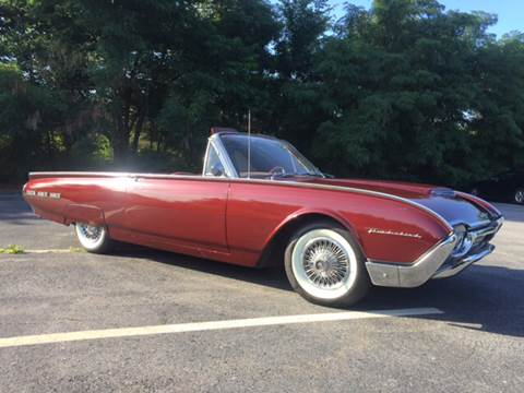 1962 Ford Thunderbird for sale at Clair Classics in Westford MA