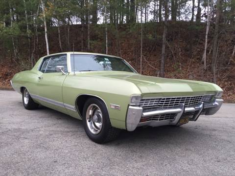 1968 Chevrolet Caprice for sale at Clair Classics in Westford MA