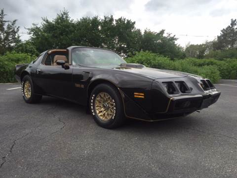 1981 Pontiac Firebird Trans Am for sale at Clair Classics in Westford MA
