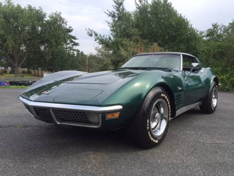 1971 Chevrolet Corvette for sale at Clair Classics in Westford MA