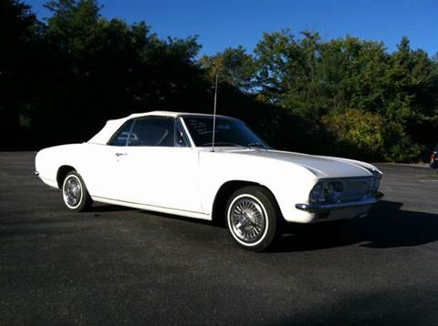 1965 Chevrolet Corvair for sale at Clair Classics in Westford MA