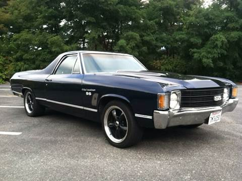 1972 Chevrolet El Camino for sale at Clair Classics in Westford MA