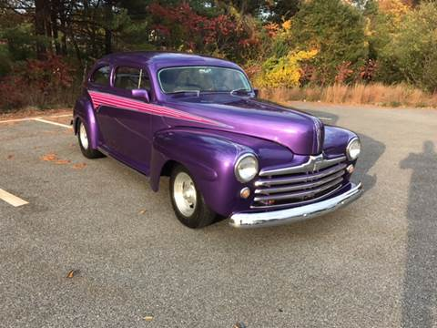 1946 Ford Deluxe for sale at Clair Classics in Westford MA