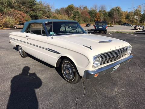 1963 Ford Falcon for sale at Clair Classics in Westford MA