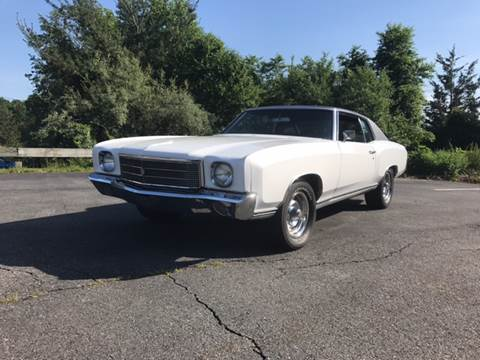 1970 Chevrolet Monte Carlo for sale at Clair Classics in Westford MA