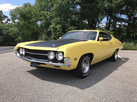 1970 Ford Torino for sale at Clair Classics in Westford MA