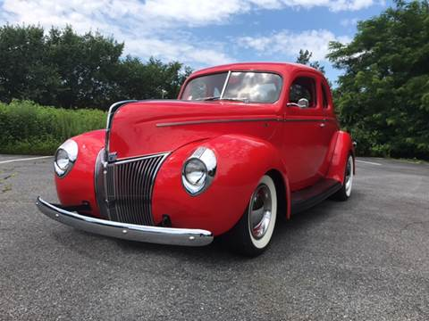 1940 Ford Deluxe for sale at Clair Classics in Westford MA