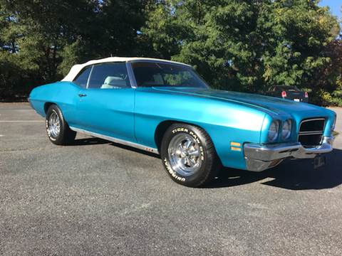 1972 Pontiac Le Mans for sale at Clair Classics in Westford MA