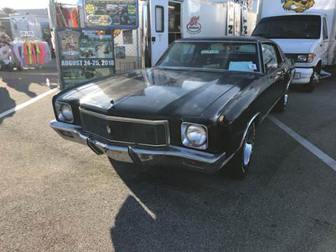 1971 Chevrolet Monte Carlo for sale at Clair Classics in Westford MA