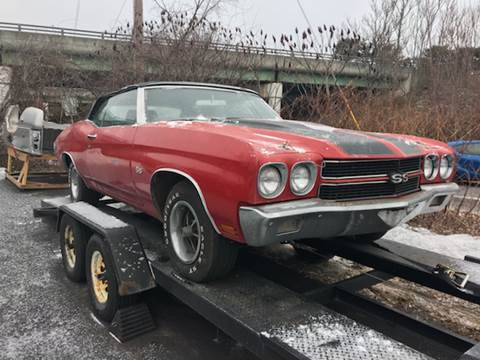 1970 Chevrolet Chevelle Malibu for sale at Clair Classics in Westford MA