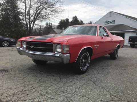 1971 Chevrolet El Camino for sale at Clair Classics in Westford MA