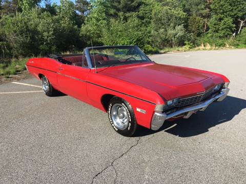 1968 Chevrolet Impala for sale at Clair Classics in Westford MA