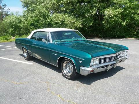 1966 Chevrolet Impala for sale at Clair Classics in Westford MA