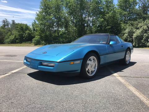 1988 Chevrolet Corvette for sale at Clair Classics in Westford MA