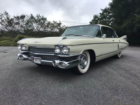 1959 Cadillac Fleetwood for sale at Clair Classics in Westford MA