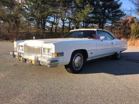 1974 Cadillac Eldorado for sale at Clair Classics in Westford MA