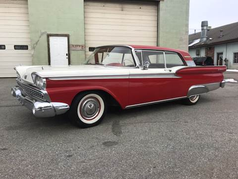 1959 Ford Galaxie for sale at Clair Classics in Westford MA