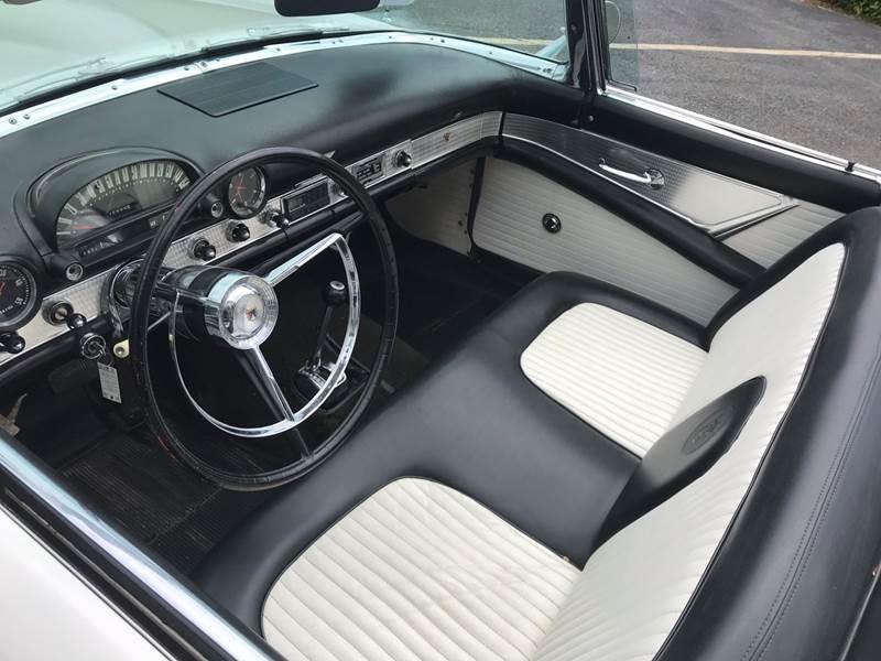 1956 Ford Thunderbird  - Westford MA