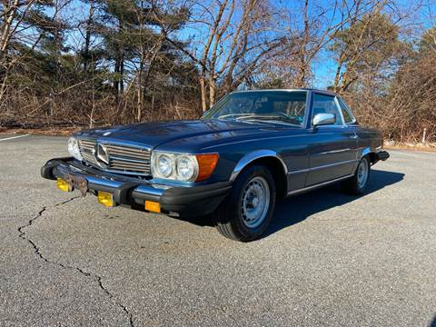1983 Mercedes-Benz 380-Class 380 SL for sale at Clair Classics in Westford MA