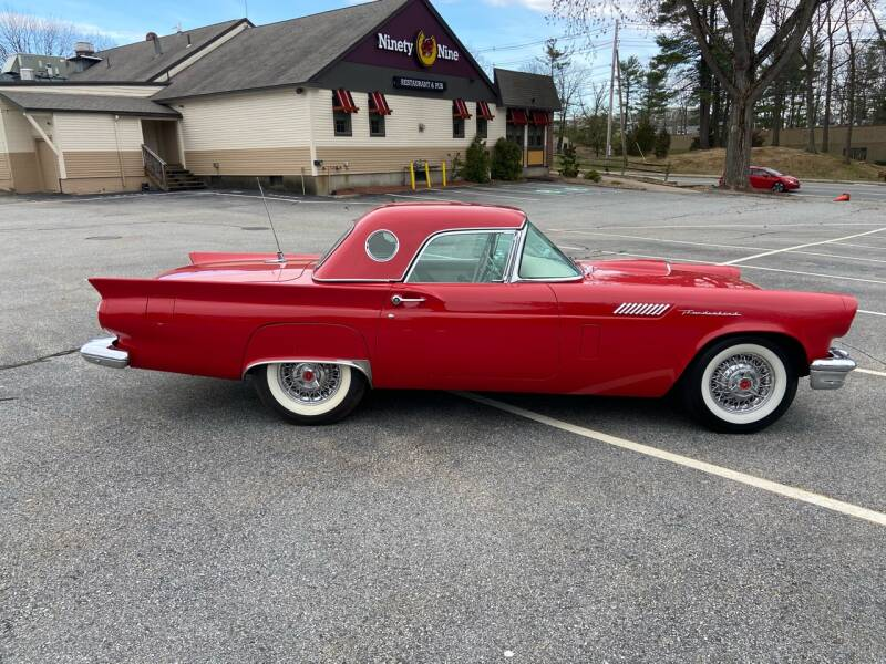 1957 Ford Thunderbird  - Westford MA